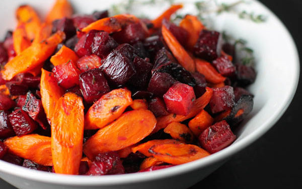 Roast Beetroot and Carrots