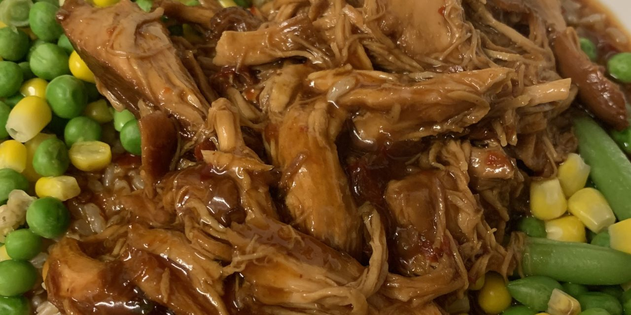Sweet Chilli Saucy Pulled Chicken